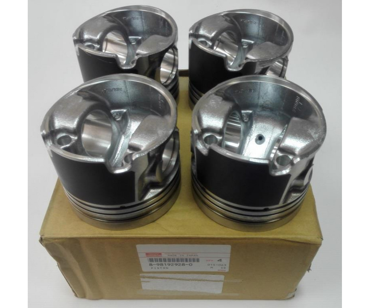 PISTON; GRADE=B Isuzu 4JJ1 8981929280 8980416561, Piston grade=B