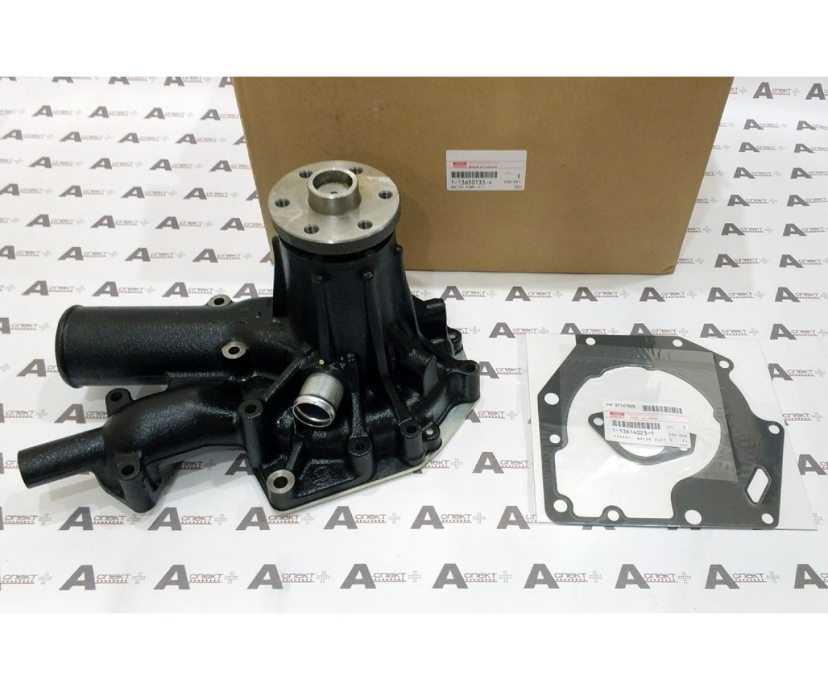 PUMP ASM; WATER Isuzu 6HK1 1136501333 1136501334 02/801045